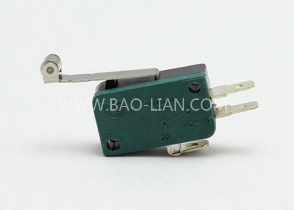 Green Three Terminal Coin Switch (Long)(Short)