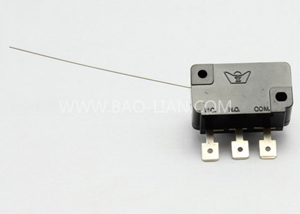 High sensitivity rotary microswitch (Straight)(Bent)