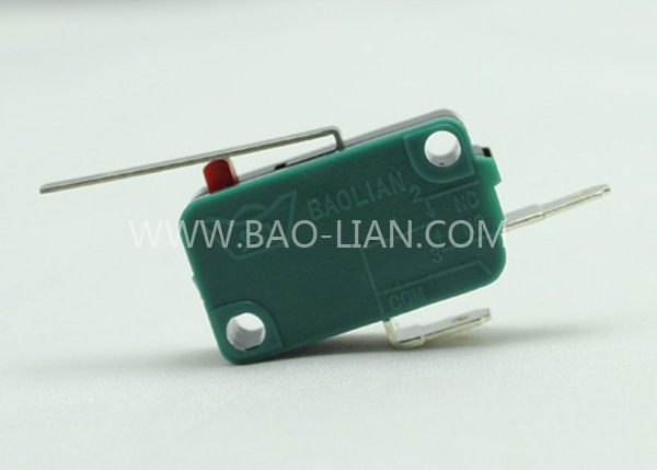 Boat-shaped Two Terminal Microswitch