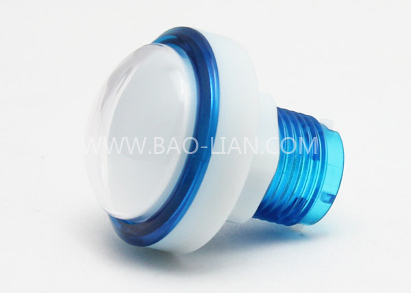 4611 Round Illuminated Color Body Push Button White inner w/LED lamp
