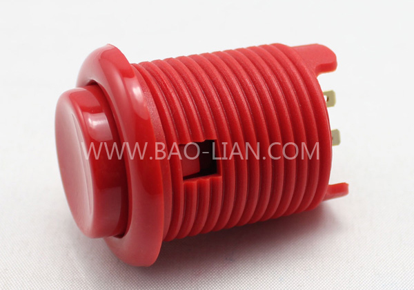 New Nylon Concave Round Pushbutton