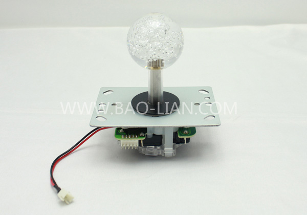 BL joystick with colored light